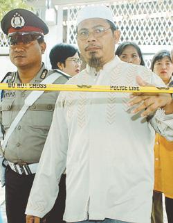 INDONESIA-BLAST-PREACHER