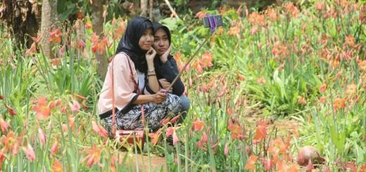 Selfie di Kebun Amarilis